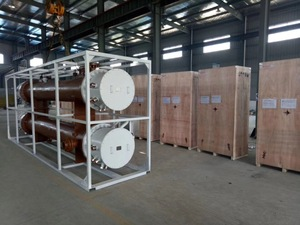 Fuel heater for the 400MW combined cycle power station project in Syracuse, Bangladesh